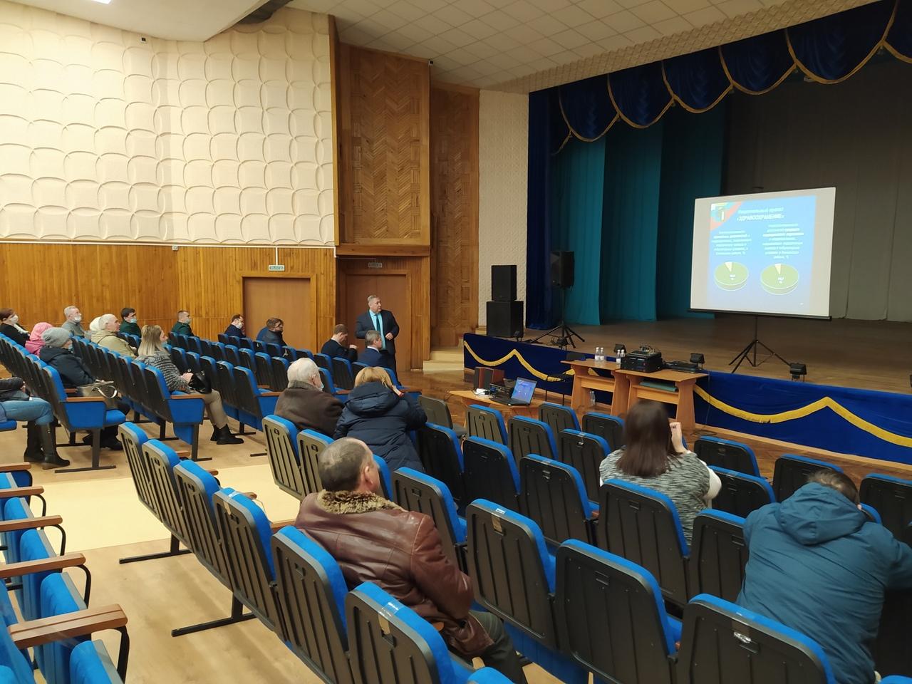Глава района встретился с жителями Комсомольского